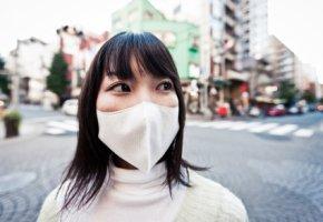 Mundschutz gegen Radioaktivität