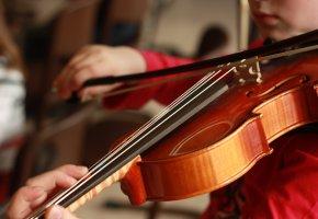 Musikinstrument: Der Nachwuchs übt auf der Violine