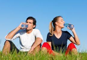 Mach dem Laufen braucht der Körper Mineralstoffe