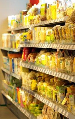 Trockensortiment - Nahrungsmittel für Veganer
