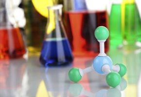 Nano-Partikel Molekular-Modell