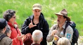 Nationalpark Eifel: Führung durch einen Ranger - Übersetzung in Gebärdensprache