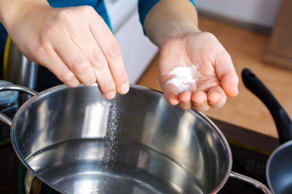 Der Mineralstoff Natrium regelt den Wasserhaushalt des Körpers.