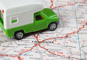 Navigation im Auto
