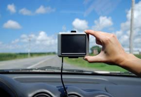 Navigieren mit einem Navigationsgerät