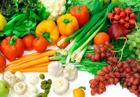 Obst und Gemüse sind wichtig für eine gesunde Ernährung