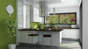 Offene Designer-Küche