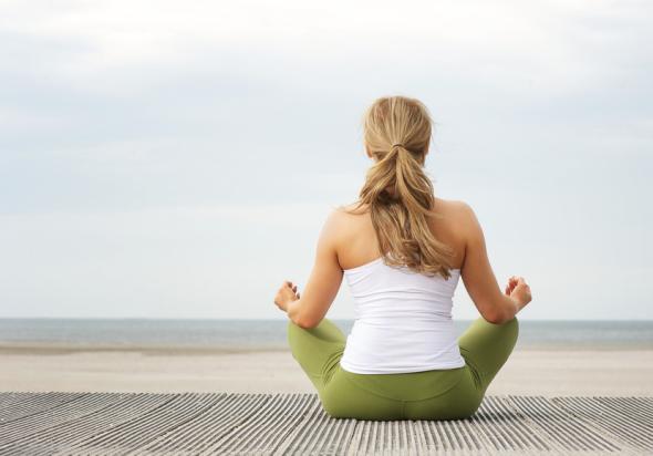 Meditation: Ohne Diät abnehmen und schlank bleiben.