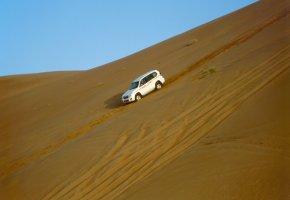 Oman: Durchquerung der Sandwüsten mit einem Jeep