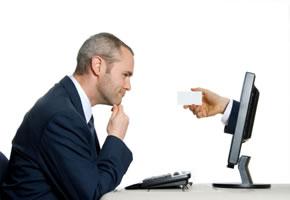 Online-Bewerbung für einen Job