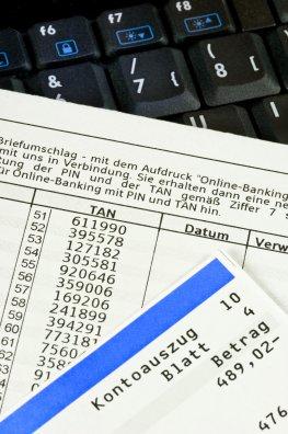 Online-Banking - Sicherheitsverfahren: eine TAN-Liste