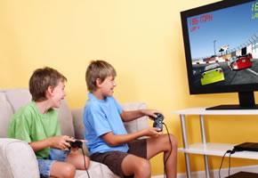 Onlinespiel mit der Spielekonsole