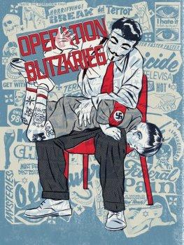 Operation Blitzkrieg von Anonymous - Die Hacker attackieren Internetseiten der rechten Szene