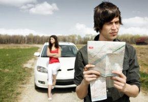 Orientierungslos - fahren nach Stadtplan