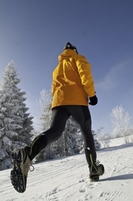 Outdoor-Training im Winter