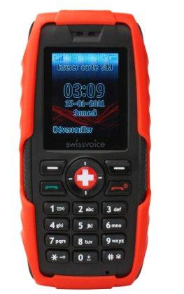 Outdoorhandy: Swissvoice SV29 mit Solarenergie aufladen