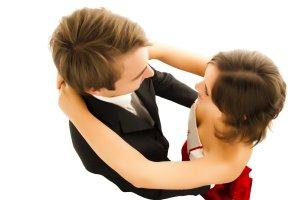 Paartanz: Ein tanzendes Paar