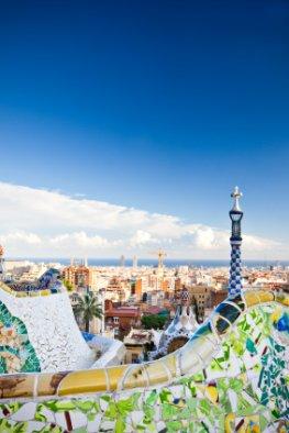 Park Güell im Herzen von Barcelona