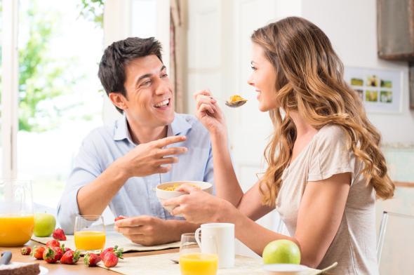 Die Partner Diät unterstützt die ganze Familie beim abnehmen.