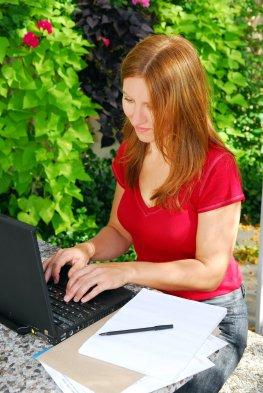 PC-Sicherheitscheck am Laptop