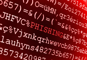 Phishing über das Internet