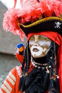 Piratenkostüm zu Fasching und Karneval