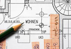 Inneneinrichtung: Plan von der Wohnung