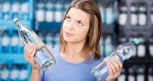 Plastikflasche enthalten Schadstoffe die Krank machen können.