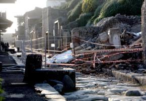 """Pompeji - das """"Haus der Gladiatoren"""" ist 2010 eingestürzt"""