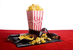 Popkorn gehört zu jedem gutem Kinofilm