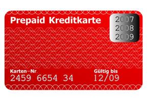 Eine Prepaid Kreditkarte bekommt man auch mit schlechter Bonität