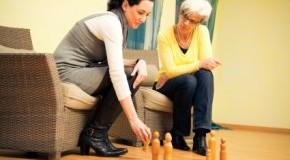 Psychotherapie - Patientin in einer Therapiesitzung