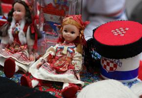 Puppen mit Kroatischer Kleidung