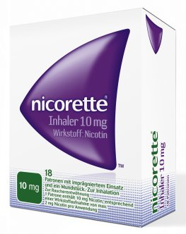 Rauchentwöhnung - Der Inhaler von Nicorette