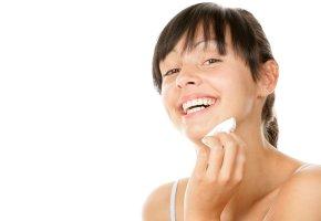 Reine Haut ohne Akne und Narben