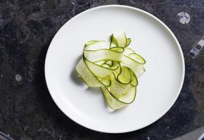 Restaurant Geist - Zucchini Pistachio