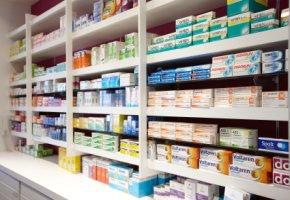 Rezeptfreie Medikamente in der Apotheke