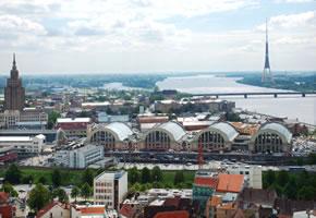 Riga die Hauptstadt von Lettland