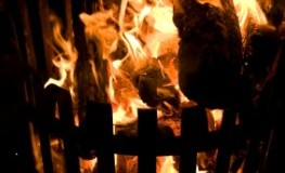 Feuerkorb für den Garten - das Feuer erzeugt angenehme Wärme