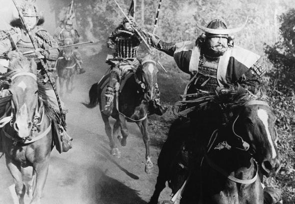 Ronin waren herrenlose Samurai in Japan.