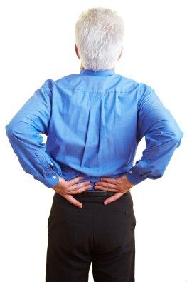 Rückenschmerzen - Probleme mit den Bandscheiben
