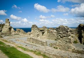 Ruine Tintagel Castle