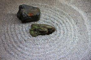 Ryogen im Zen Garten