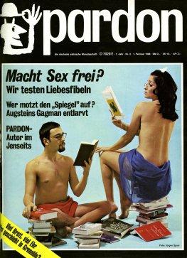 Satiremagazin Pardon 1968, zweite Ausgabe