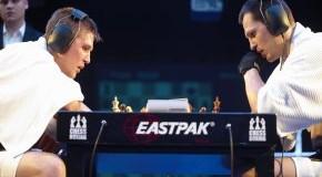 Schachboxen: jetzt wird Schach gespielt