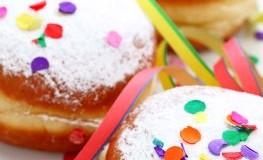 Schmalzgebäck - Faschingskrapfen an Karneval