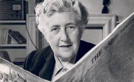 Schriftstellerin Agatha Christie