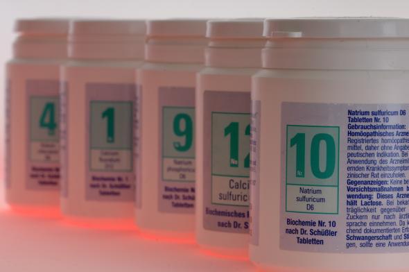 Schüssler-Salze gelten in der Medizin als wirkungslos.