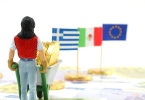 Schuldenunion - der Steuerzahler muss für andere Länder zahlen
