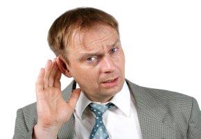 Schwerhörigkeit vermindertes Hörvermögen